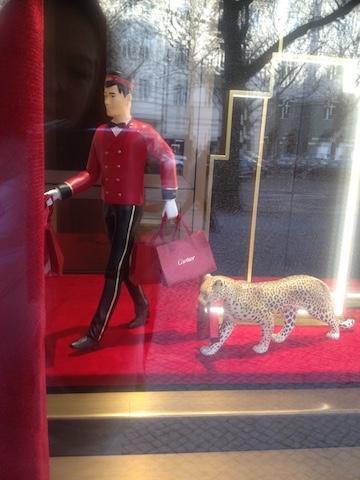 Berlin Kurfürstendamm Cartier Jaguar