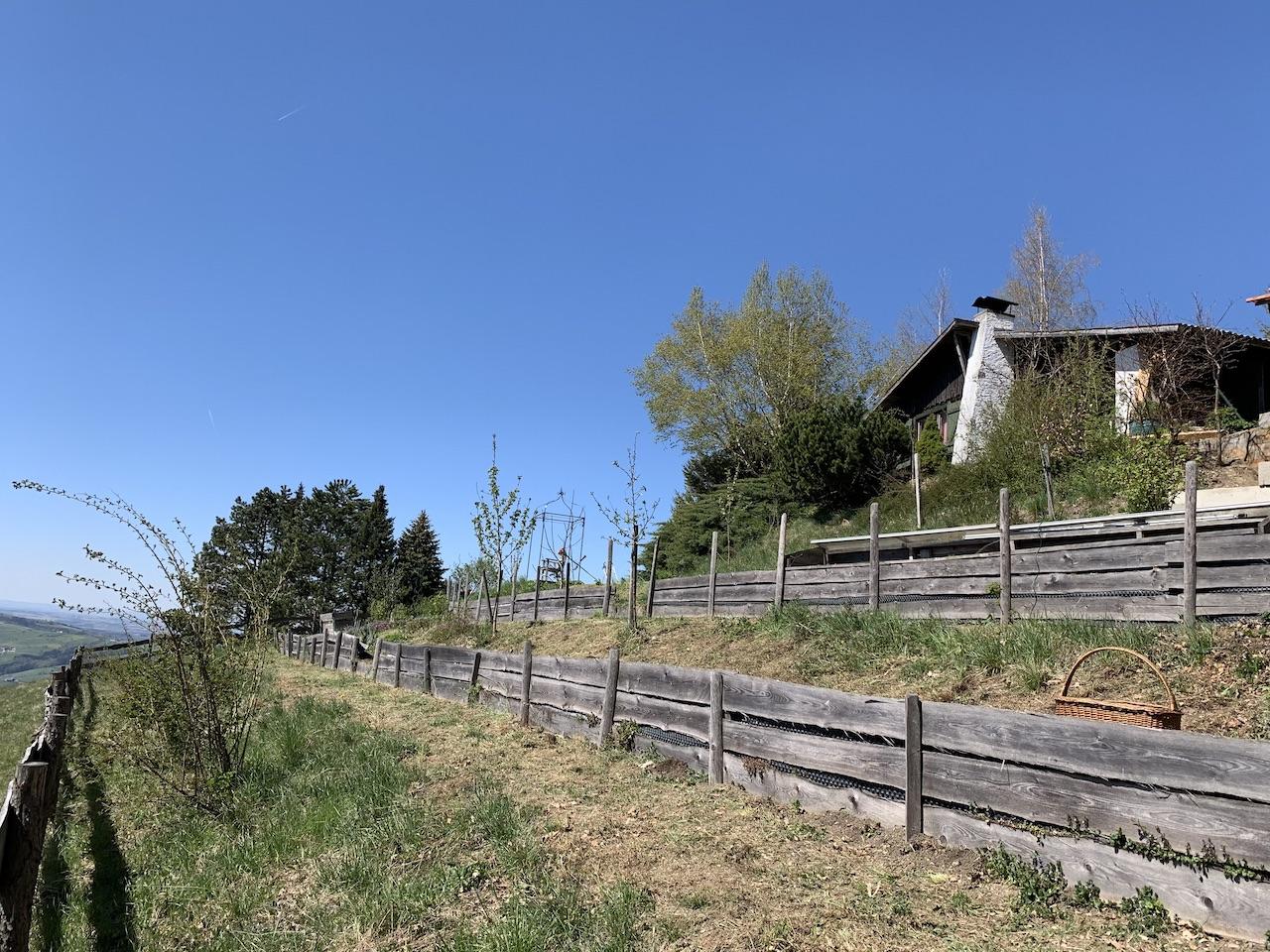 Hütte Huette Garten Beete