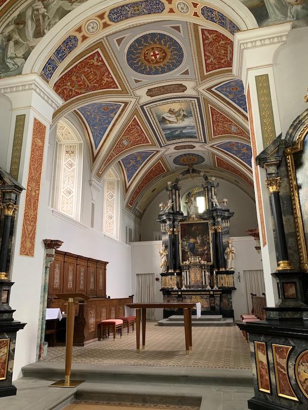 A_Vorarlberg_Bregenz_Gebhardsberg_Burgrestaurant_Kirche